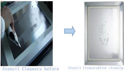 Macchina bassa di pulizia dello stampino di scarico, attrezzature per la pulizia stabili dal PWB