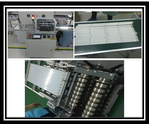 Macchina di alluminio del PWB Depaneling del piatto di controllo dello schermo di computer con una scanalatura da 0,25 millimetri V